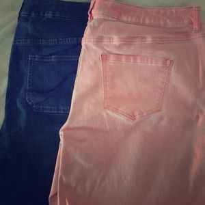 Lane Bryant denim shorts